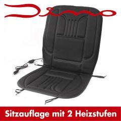 Sitzauflage mit Heizung inklusive Bedieneinheit, Anschlußkabel, Sicherung und Befestigungsmaterial + Aufbewahrungstasche