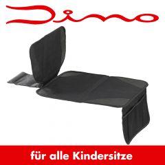 Dino Kindersitz-Unterlage mit Netztaschen & Antirutschfunktion