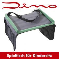 Dino Kindersitz-Reisetisch mit Netztaschen