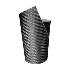 FOLIATEC  COCKPIT Designfolie Ultra Carbon schwarz strukturiert, 50 x 50 cm