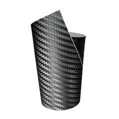 FOLIATEC  COCKPIT Designfolie Ultra Carbon schwarz strukturiert, 152 x 20 cm