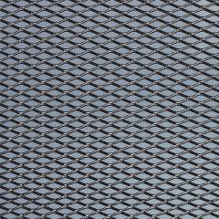 FOLIATEC  ALU Renngitter mittelmaschig mittel schwarz 20 x 120 cm