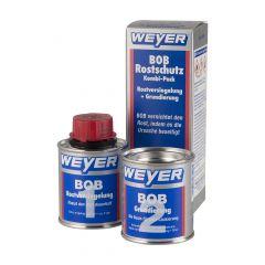 Weyer BOB Rostschutz Kombi- Pack  -   Rostversiegelung + Grundierung    BOB vernichtet den Rost, indem es die Ursache beseitigt.