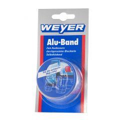 Weyer Alu- Band   -   Zum Ausbessern durchgerosteter Blechteile  - selbstklebend.