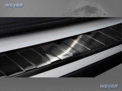 BMW X1 F48 ab Baujahr 2015-, WEYER Edelstahl Ladekantenschutz - graphite/black Line