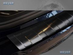 BMW Serie 5 G31 Touring ab Baujahr 2017-> WEYER Edelstahl Ladekantenschutz- graphite/black- Line