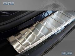 BMW Serie 5 G31 Touring ab Baujahr 2017- WEYER Edelstahl Ladekantenschutz