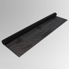 Folie Shadow Line, selbsthaftend - schwarz -  5% gelocht - 0,50 x 1,50 m