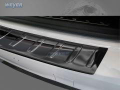 BMW X3 F25 FL ab Baujahr 2014-2017, WEYER Edelstahl Ladekantenschutz - hochglanz schwarz