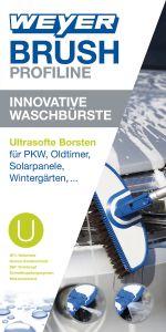 Innovative Waschbürste WEYER BRUSH - Ultra Soft -