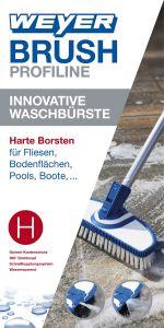 Innovative Waschbürste WEYER BRUSH - Hart