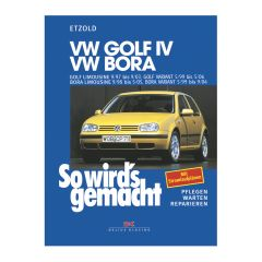 So wird's gemacht - Band 111 111 VW Golf IV 9/97 bis 9/03, Bora 9/98 bis 5/05