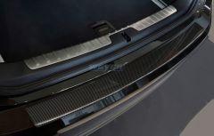 BMW X6 II F16 ab Baujahr 2014-, WEYER ECHT CARBON Ladekantenschutz