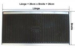 Schmutzfänger von Schönek - Maße 260 x 260 mm - 1 Paar (2 Stück) - made in Germany-