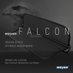 WEYER FALCON Ford Focus Cabrio CC Premium Windschott