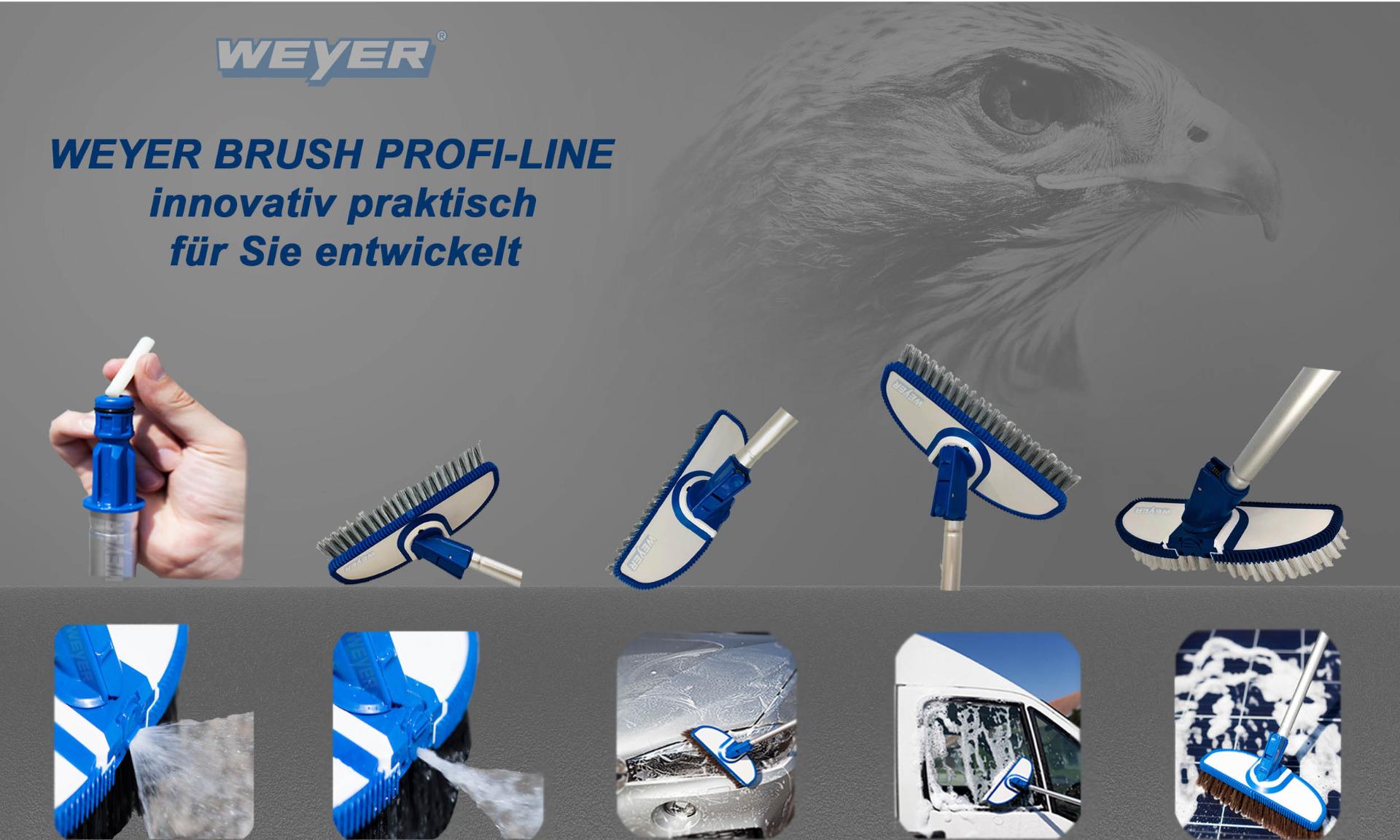 Weyer Brush Profiline Waschbürsten-System