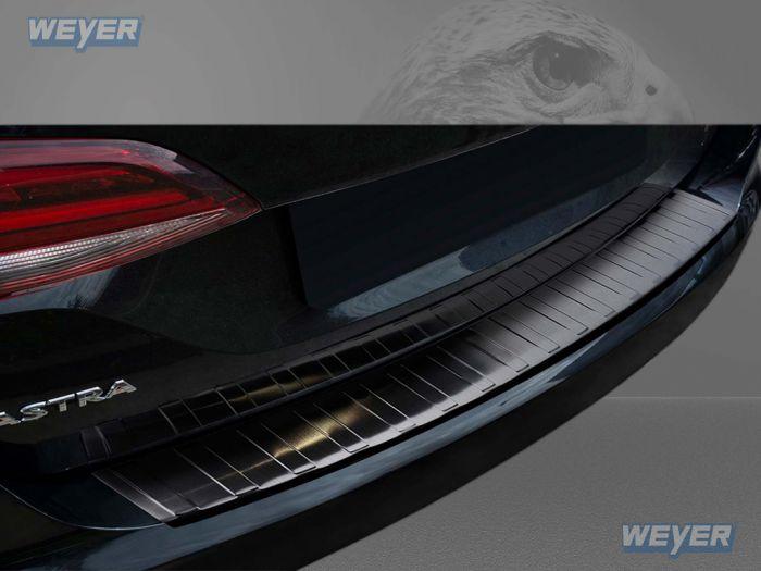 Opel Astra K V Sports Tourer Kombi Ab Baujahr 2015 Weyer Edelstahl Ladekantenschutz Graphite Black Line